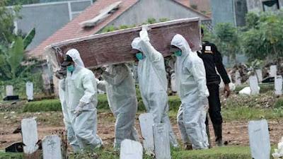 Pemakaman Protap Covid-19 di Jakarta Naik 10 Kali Lipat