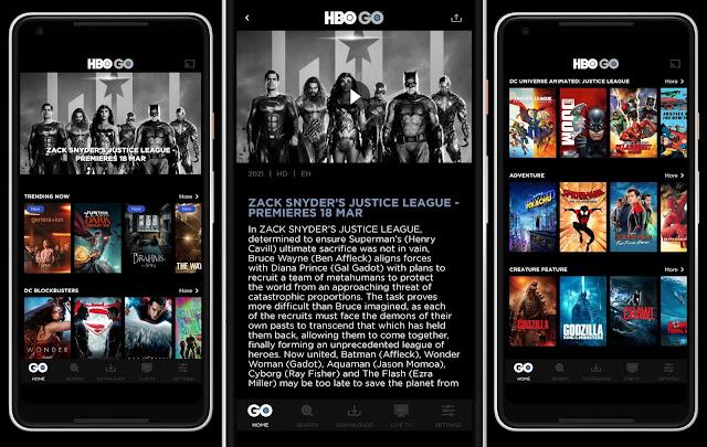Justice League Snyder Cut Boleh Ditonton Di HBO Go. Ini Langkah Dan Cara Daftar!