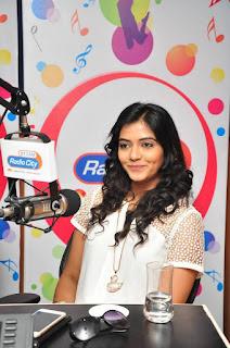 Actress Kashmira Kulkarni Pictures with Drishya Kavyam Movie Team at Radio City 0013