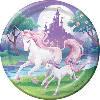 Nella the Princess Knight party supplies-paper plates