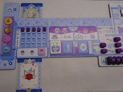 Lisboa Boardgame Player Mat
