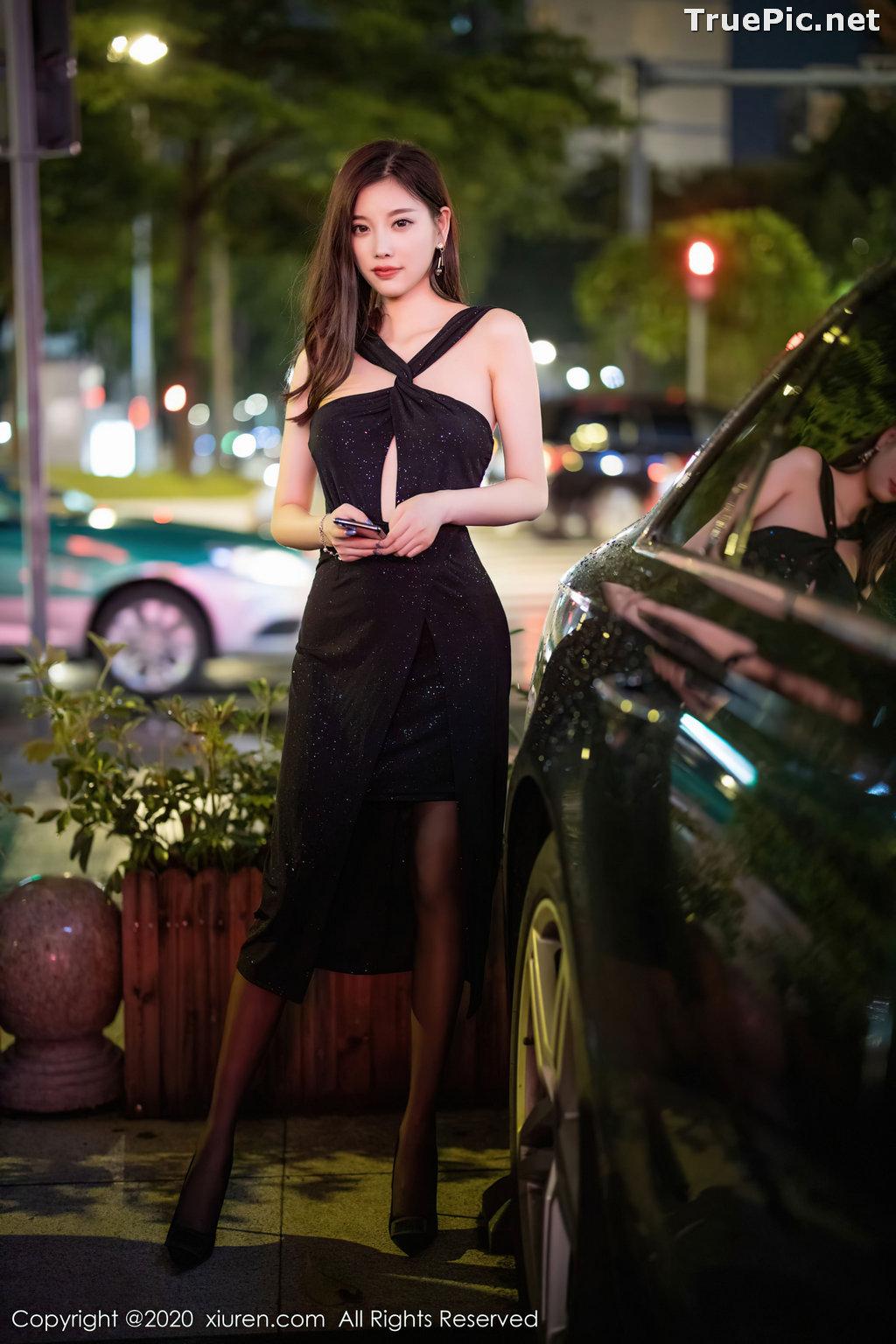 Image XIUREN No.2616 - Chinese Model - Yang Chen Chen (杨晨晨sugar) - Sexy Dark Lady - TruePic.net - Picture-1