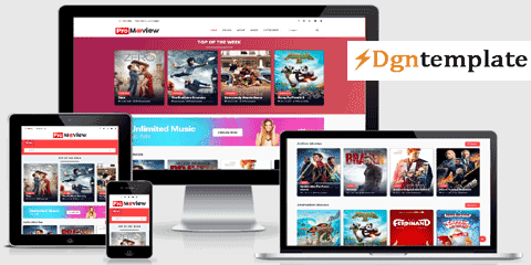 Moview Responsive Blogger template | high quality templates 2020