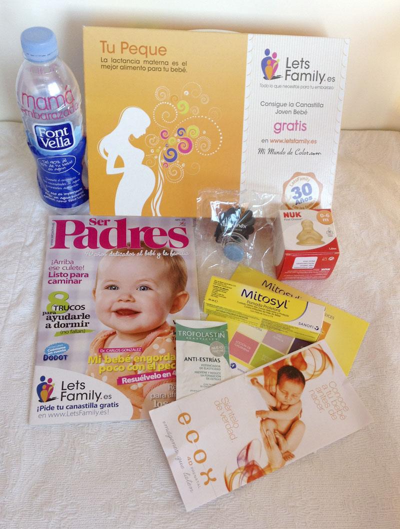 canastilla embarazadas lets family y ecox 4D pamplona
