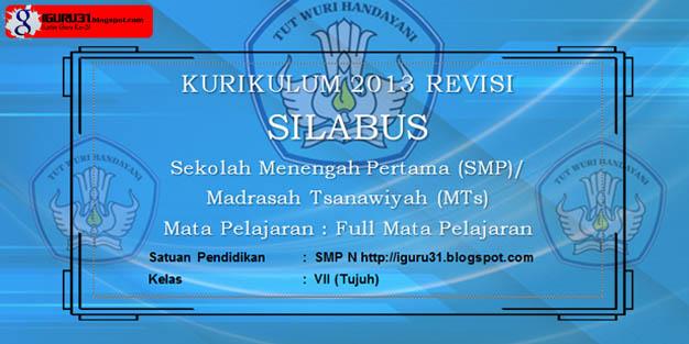 Silabus Prakarya Kelas 7