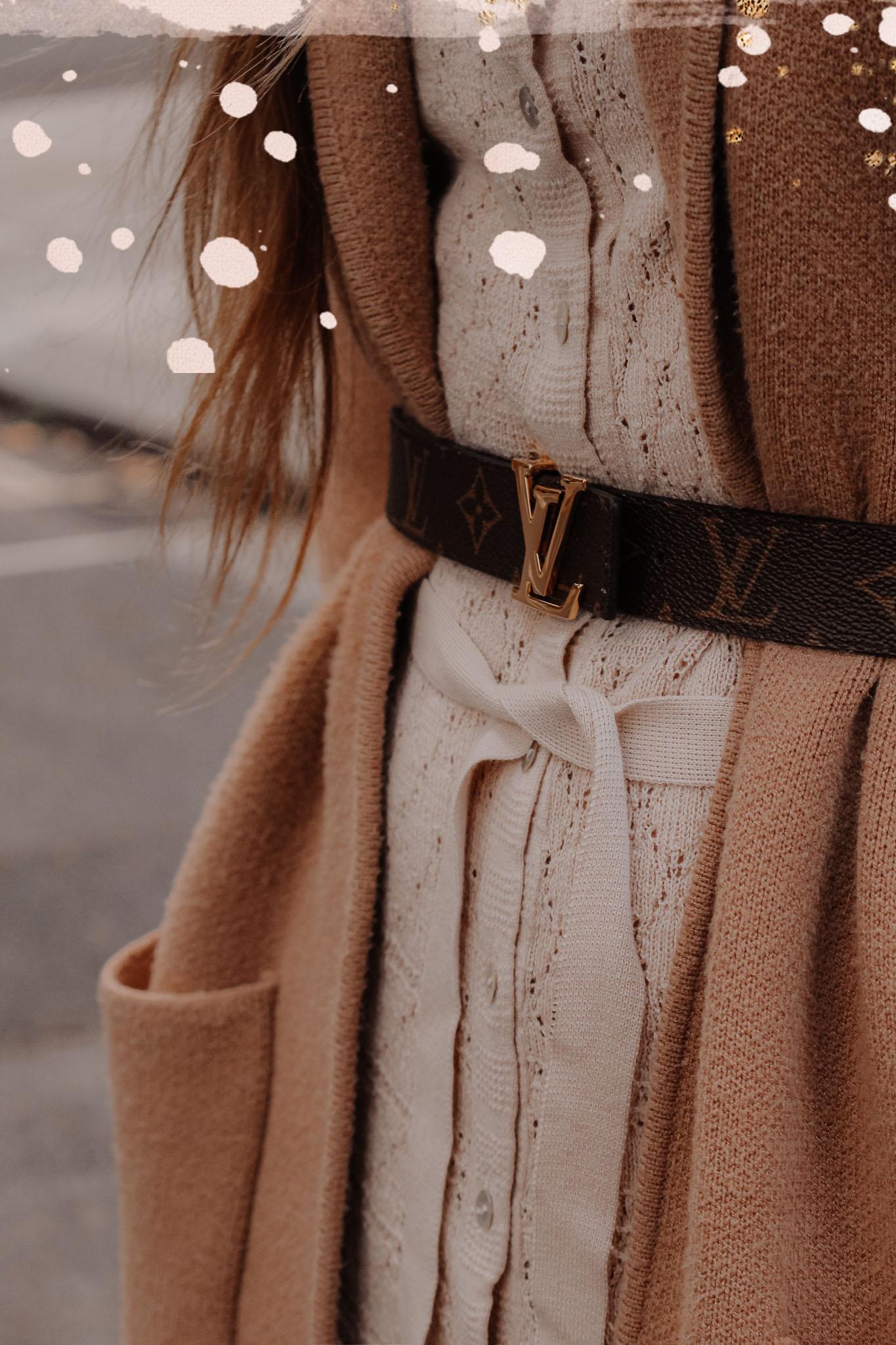 Louis Vuitton Womens Monogram Belt