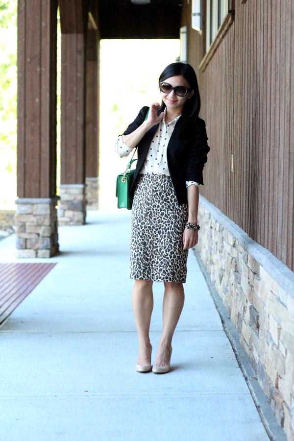 Leopard + Polka Dot