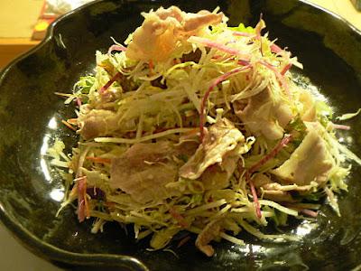 豚バラサラダ