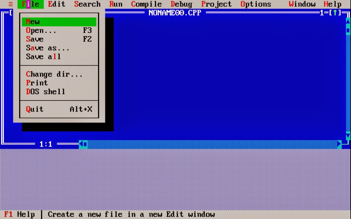 Turbo c++ free download.