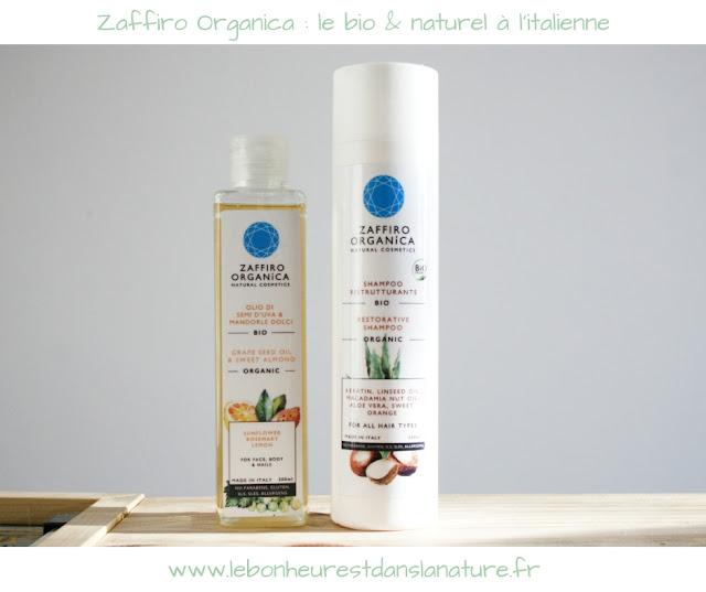 Zaffiro Organica : le bio naturel à l'italienne