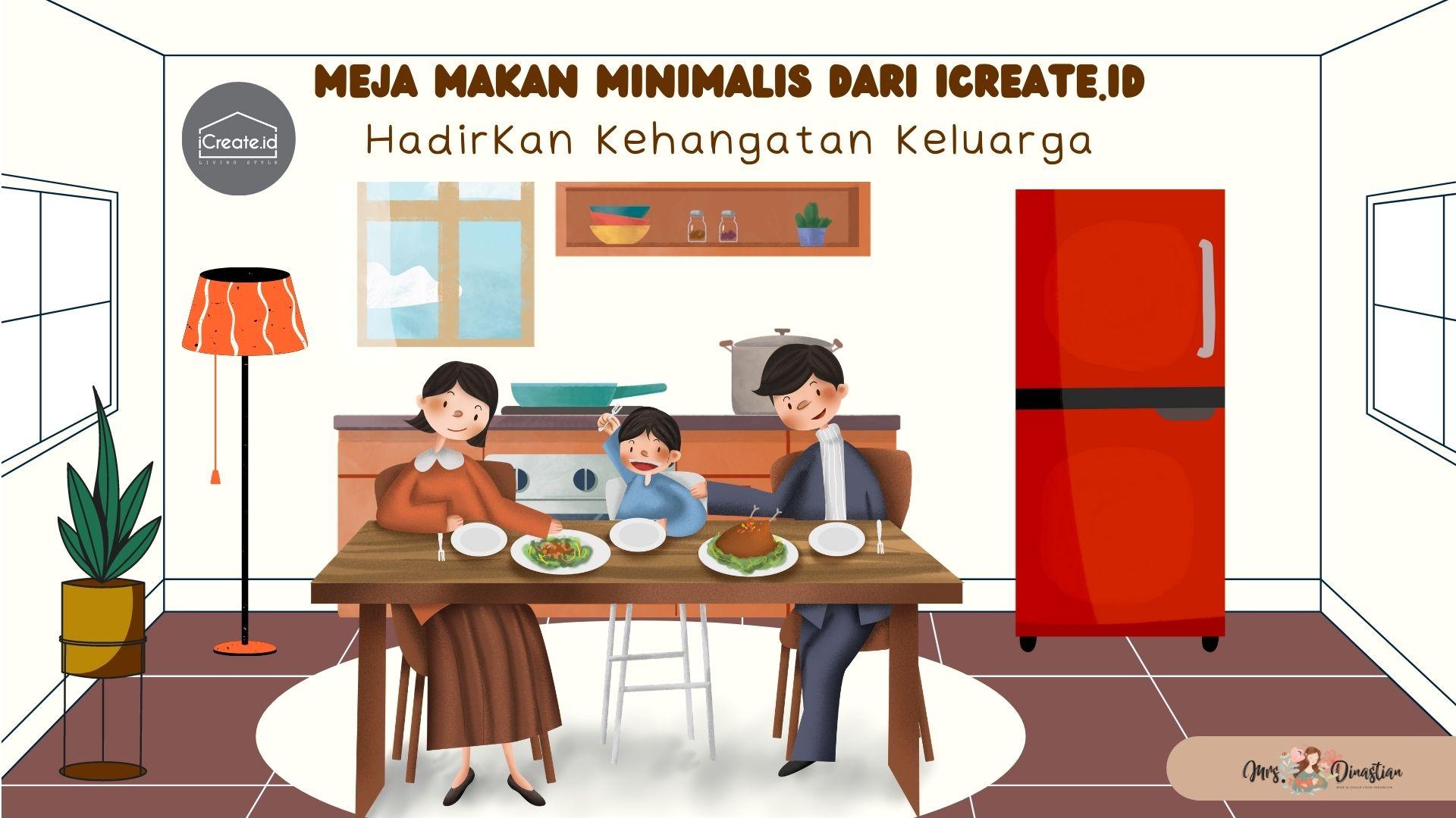 Meja Makan Minimalis iCreate.id