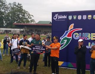 Wakapolda Menyaksikan Final Gubernur Cup 2020