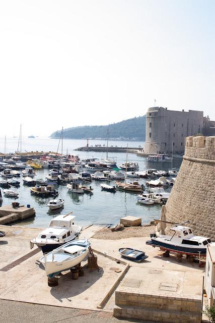 Hafen in Dubrovnik - Kroatien