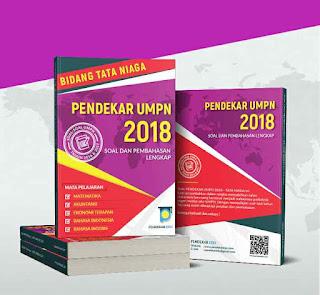 Buku Pendekar UMPN 2018 Tata Niaga | Soal dan Pembahasan UMPN Lengkap