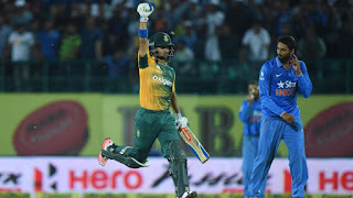 India vs South Africa 1st T20I 2015 Highlights