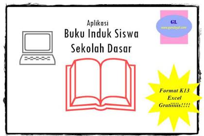 Aplikasi Buku Induk Siswa SD - Gratis