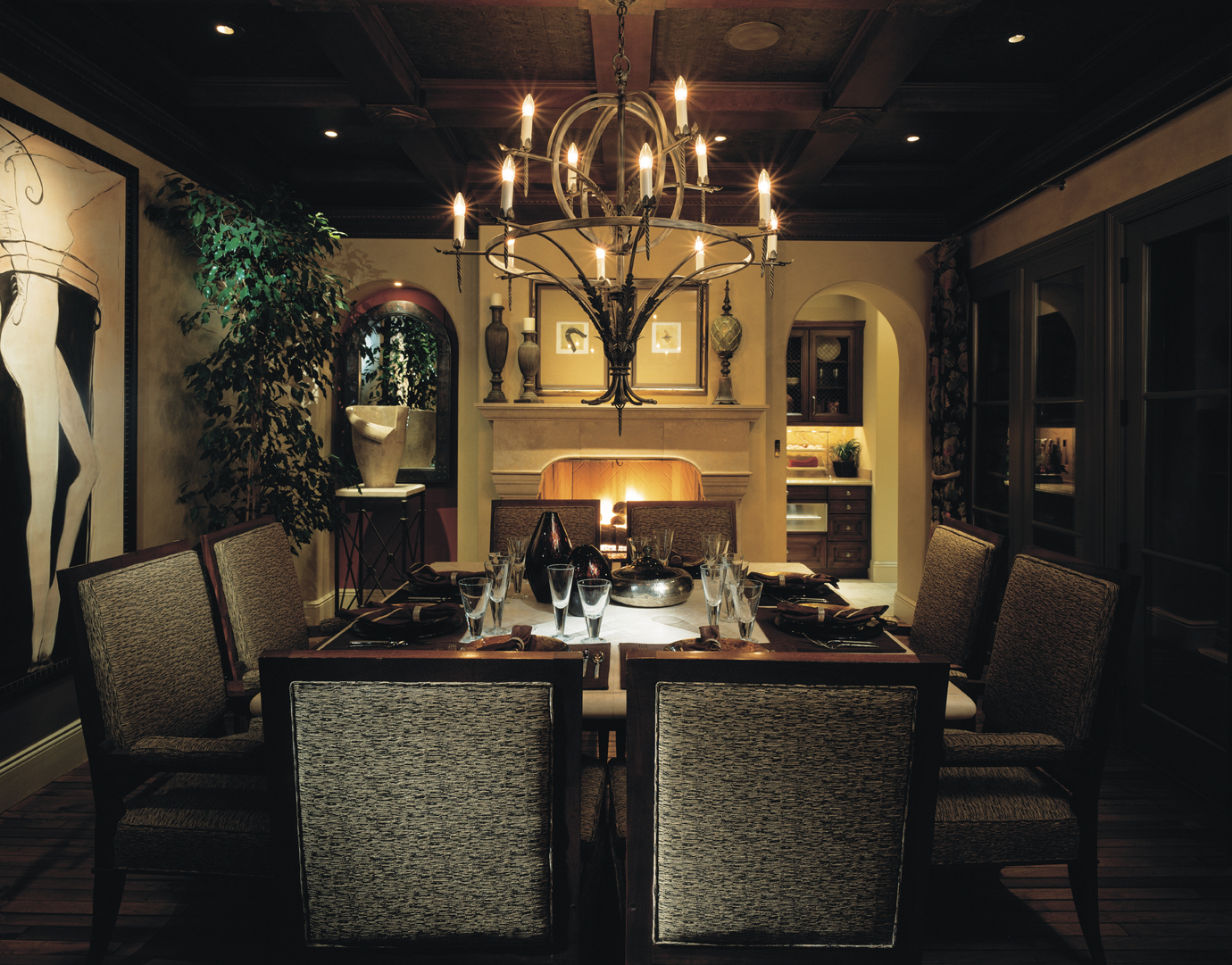 Large dining room light fixtures
