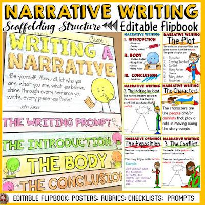 scaffolding a narrative writing essay