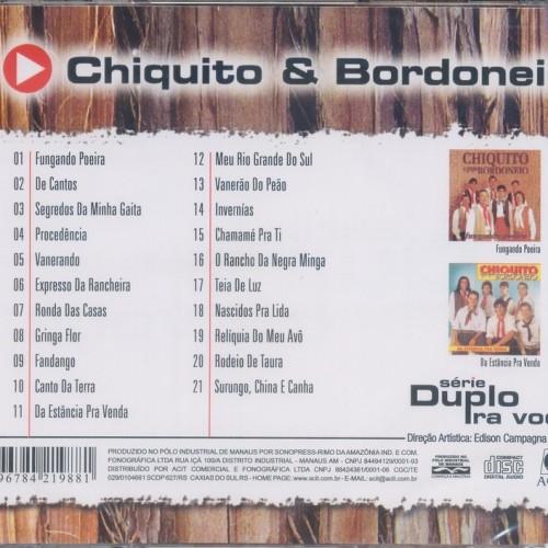 BORDONEIO E CD BAIXAR CHIQUITO