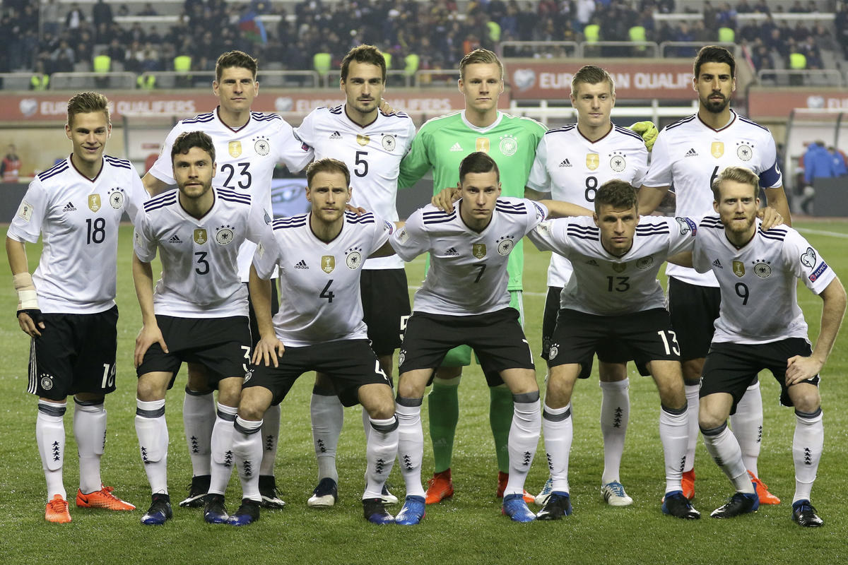 First Time in History? All Germany Players Wear Nike Boots in 2018 World Cup Qualifiers Match ...