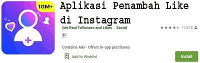 Aplikasi Penambah Like di Instagram 1