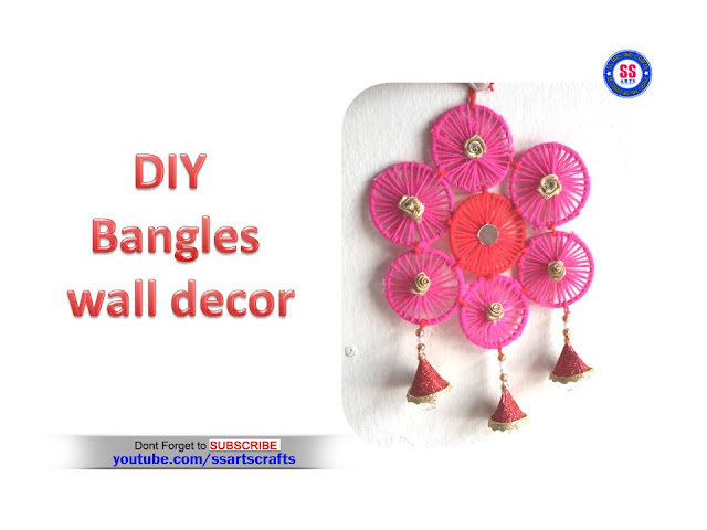 Here is bangles crafts,how to reused old bangles,how to make wind chime using old bangles,reused bangles crafts,how to make old bangles pen stand,how to make old bangles wall art,bangles tray,bangles wall decor,how to make old bangles turned into silk thread bangle,how to make old bangles wall hanging