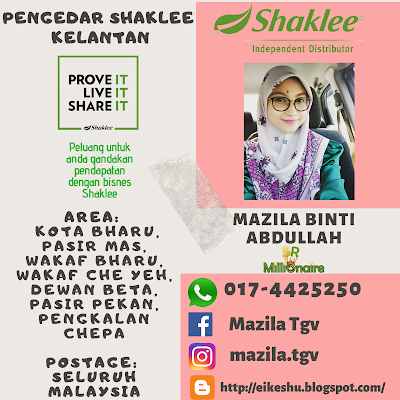 Pengedar Shaklee Wakaf Bharu 0174425250