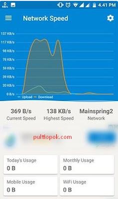 cara cek kecepatan wifi melalui HP