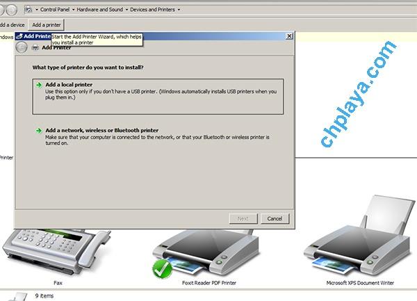 Hướng dẫn cách cài đặt Driver Canon LBP 2900 (bản 64bit trên laptop Windows 7) 2