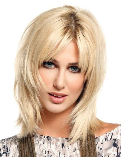 BOB HAIRSTYLES WITH BANGS: SHORT CHOPPY HAIRSTYLES: A
