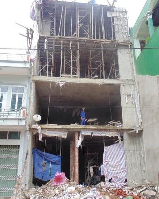 Nhà bê tông cốt thép, Sàn phẳng, Tường phẳng
