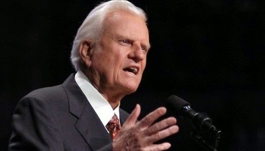Billy Graham y la maldad en Estados Unidos