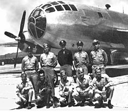 pesawat Bockscar yang membom nagasaki