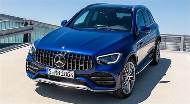 Mercedes AMG GLC 43 4MATIC 2020 được dự đoán ra mắt cuối năm nay