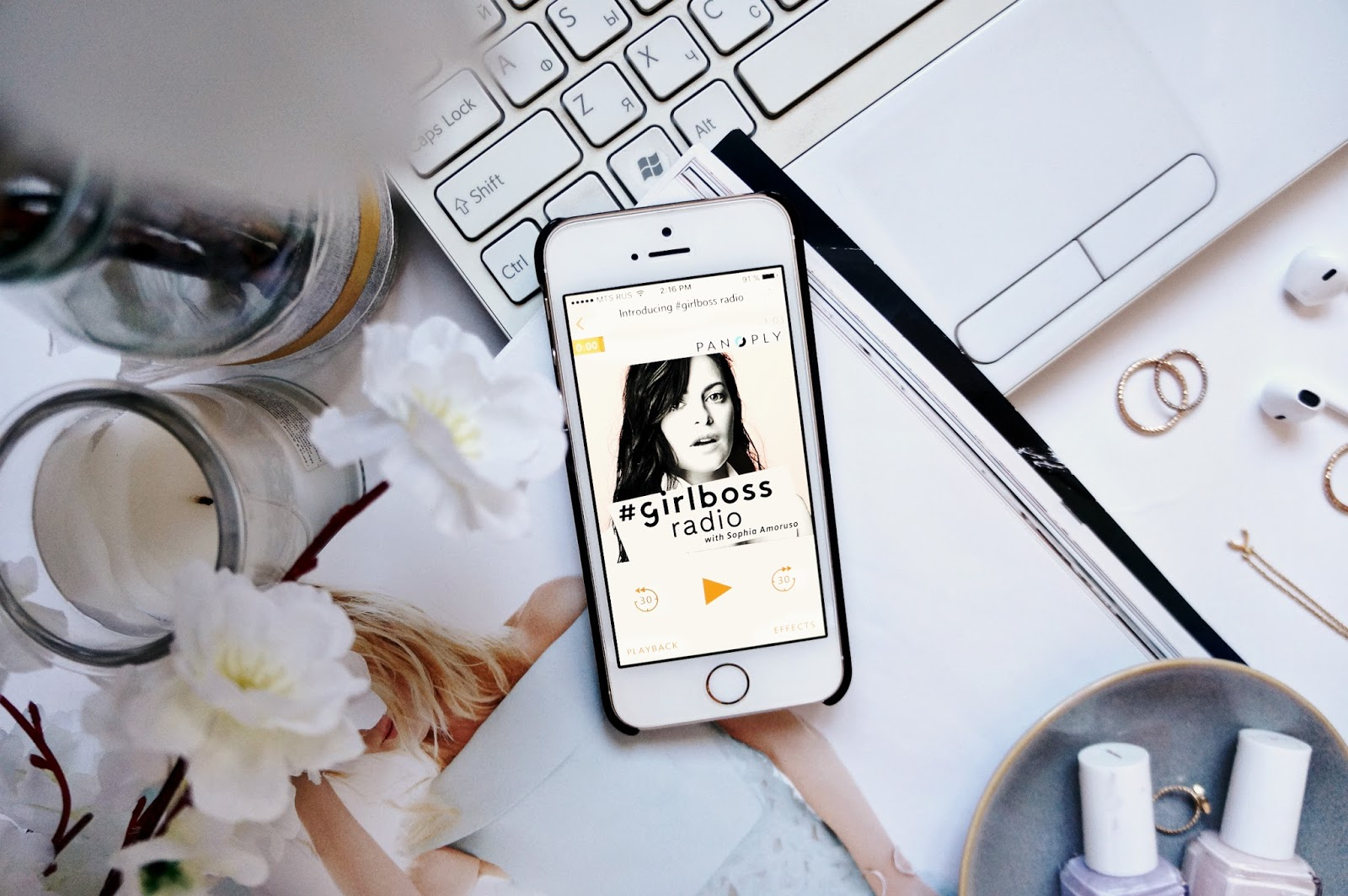Podcasts, Girlboss radio, Podcasts for bloggers
