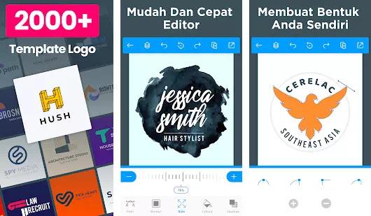 Mau Tau? Apa Saja Aplikasi Pemuat Logo Online Terbaik di Android
