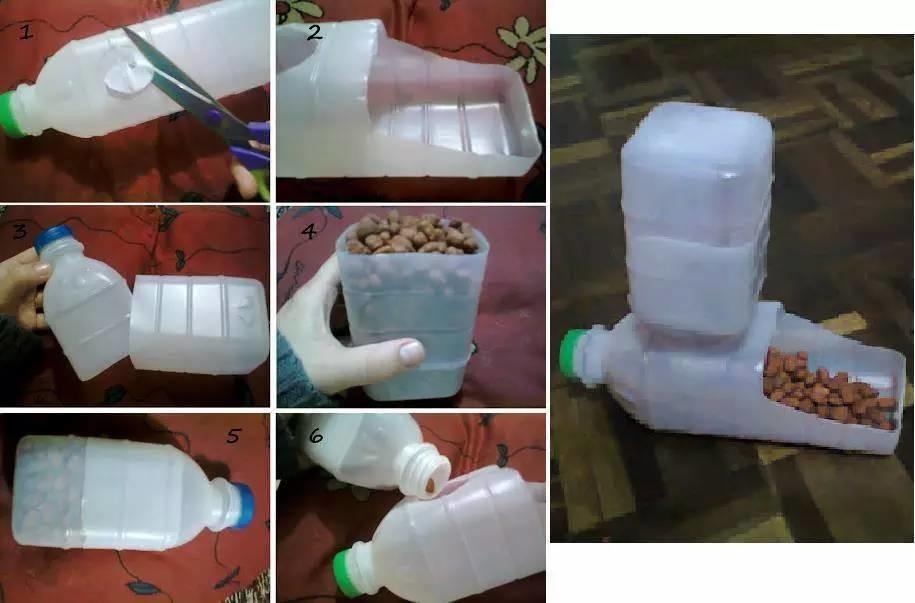 Passo a passo como fazer um comedouro para pets com material reciclavel