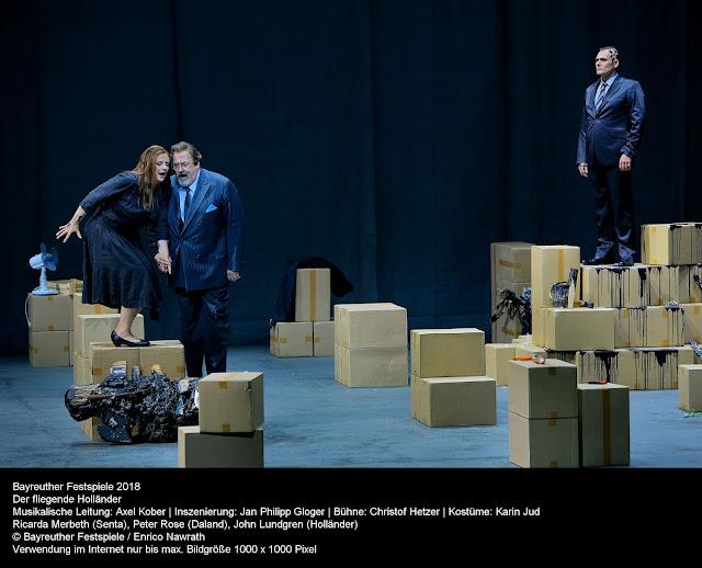 Wagner: Der fliegende Holländer - Ricarda Merbeth, Peter Rose, John Lundgren - Bayreuth Festival (Photo Enrico Nawrath)
