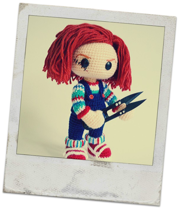 Häkelblog Täglich Neue Anleitungen Chucky Puppe Häkelanleitung