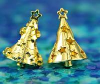 Logo Vinci gratis eleganti alberelli di Natale Elfbeads