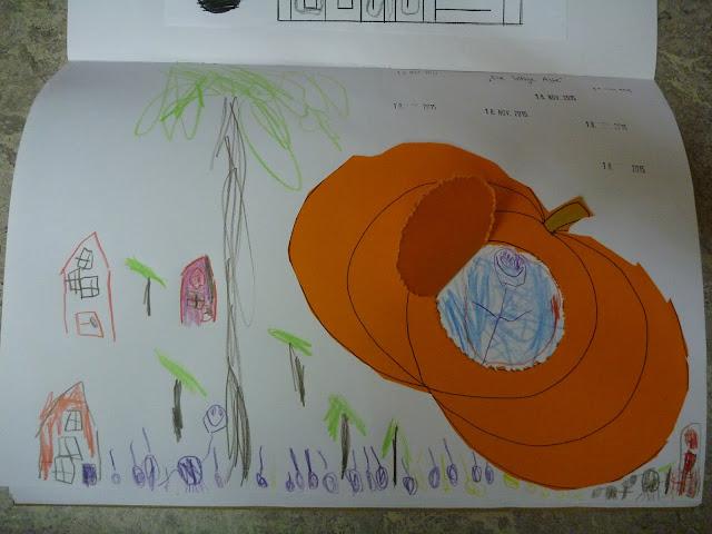 die listige Alte Märchen im Kindergarten Basteln Gestalten