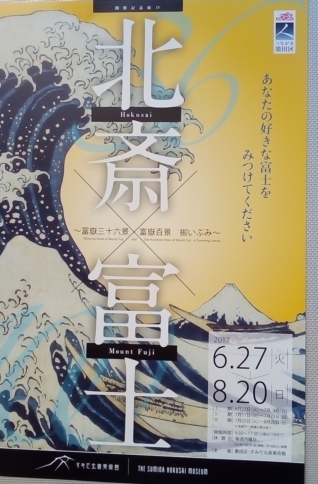 Let\'s go to Ryogoku not only for Sumo but also for Ukiyo-e !!
