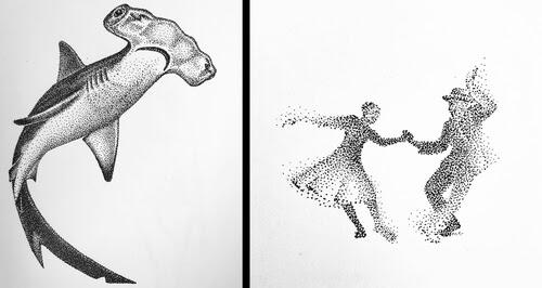 00-Stippling-Drawings-Maria-Lecanda-www-designstack-co