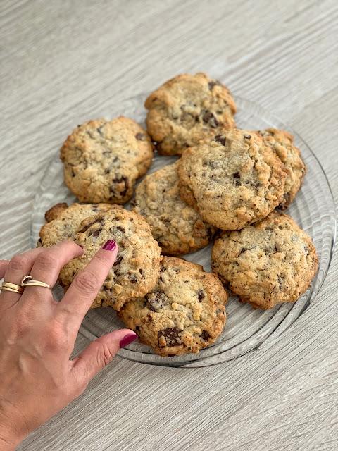 recette cookies, food, les petites bulles de ma vie