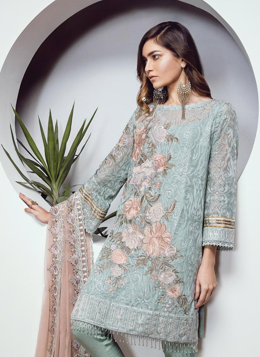 3e145714a5 Pakistani Suits Wholesaler Delhi India  BAROQUE CHANTELLE ...