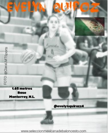Evelyn Quiroz encesta 23 puntos en triunfo en el basquet tejano