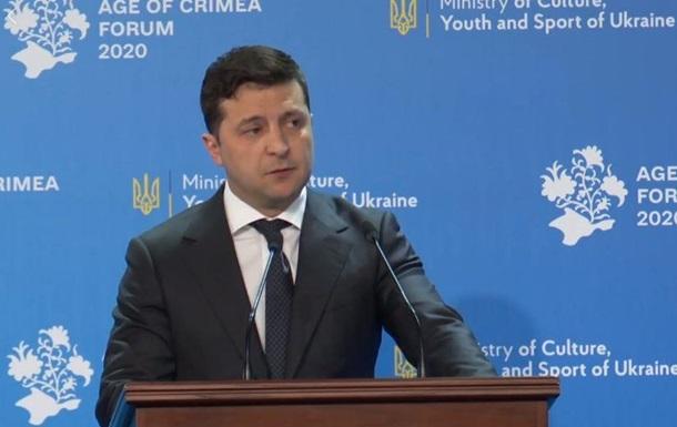 Зеленський ввів день спротиву окупації Криму