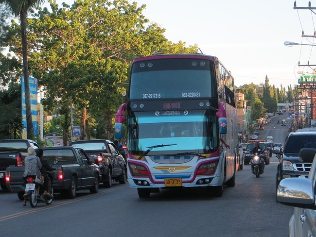 Супер автобус Таиланд