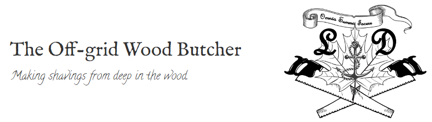 The Off-grid Wood Butcher