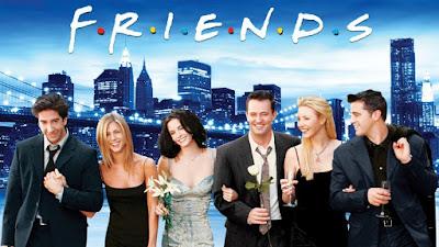 séries para aprender inglês - Friends